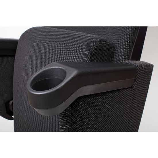 Integrated cupholder polyurethane